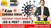 Can Corona Virus Destroy Your Rank In JEE / Neet?