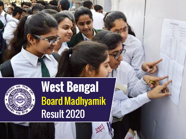 WBCHSE West Bengal HS 12th Result 2020