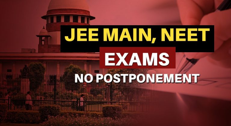 JEE Main 2020, NEET 2020 exam dates: Supreme Court dismisses plea to postpone exams