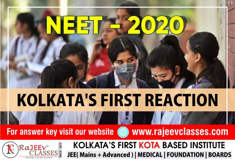 NEET 2020 Updates: Exam Analysis and Student Reactions